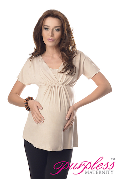 6d22c5e318667 2in1 Maternity and Nursing Top Tunic Breastfeeding Size 8 10 12 14 ...